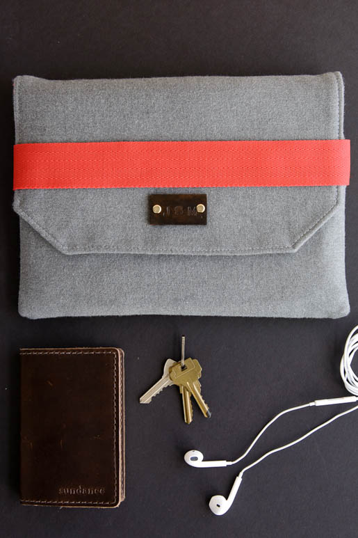 BERNINA iPad Case out of Wool