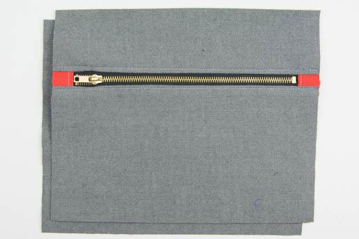 BERNINA Wool-iPad-Case-Basting_Step 5
