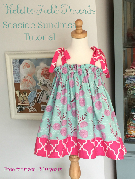 Kids Seaside Sundress Tutorial