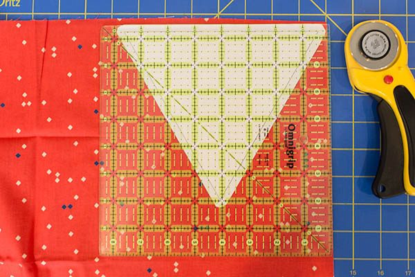 BERNINA 4th of July Bunting Tutorial Step 4