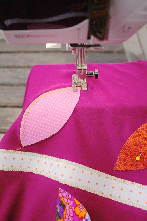 BERNINA Applique Dress Tutorial Step 8