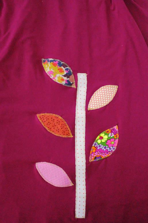 BERNINA Applique Dress Tutorial Finished