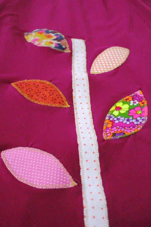 BERNINA Applique Dress Tutorial Finished Applique