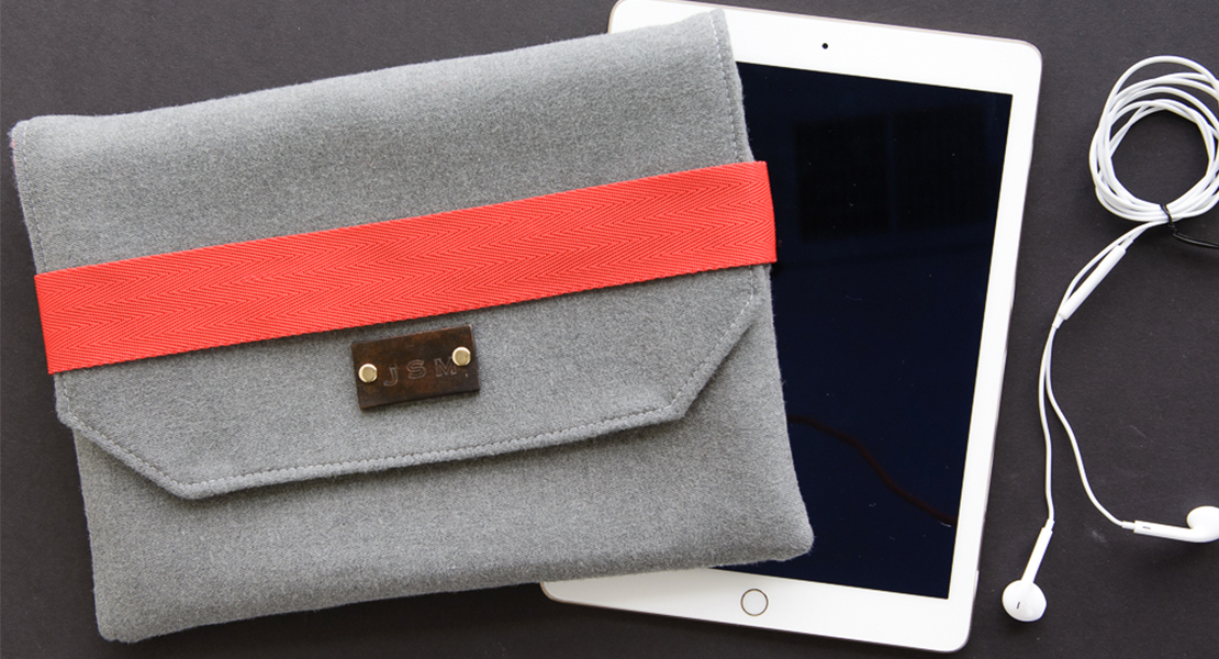 BERNINA iPad Case Tutorial