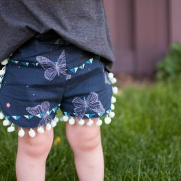 Curved Shorts Tutorial - finished shorts