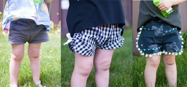 Curved Shorts Tutorial Overiew of Three Styles