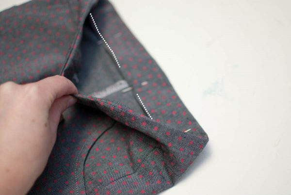DIY Kids Shorts Series 1200 x 800 - Basic Shorts-Fold Top Waistband Piece