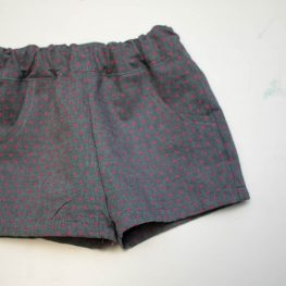 DIY Kids Shorts Series - Basic Shorts Finished
