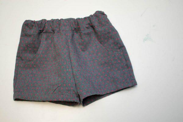 DIY Kids Shorts Series - Basic Shorts Finished
