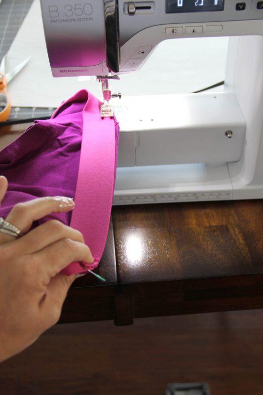 Fringe Skirt Sewing Tutorial-Sewing