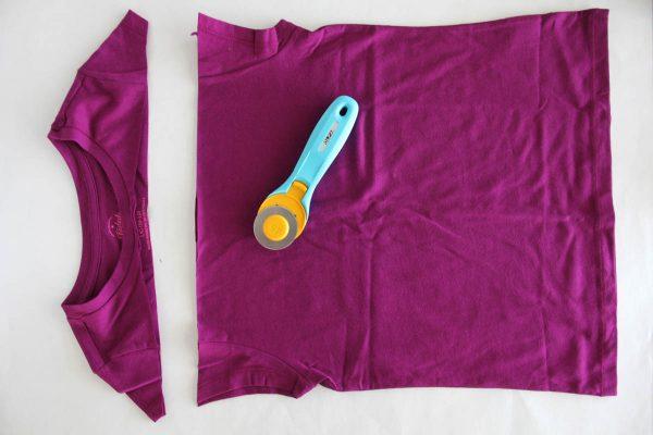 Fringe Skirt Sewing Tutorial-Cutting