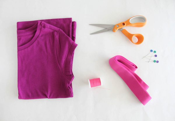 Fringe Skirt Sewing Tutorial Materials