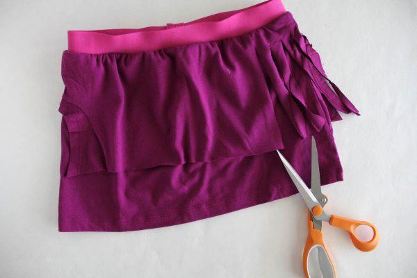 Fringe Skirt Sewing Tutorial-Fringe