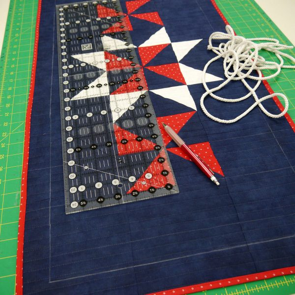 How to Sew a Patriotic Patchwork Tablerunner