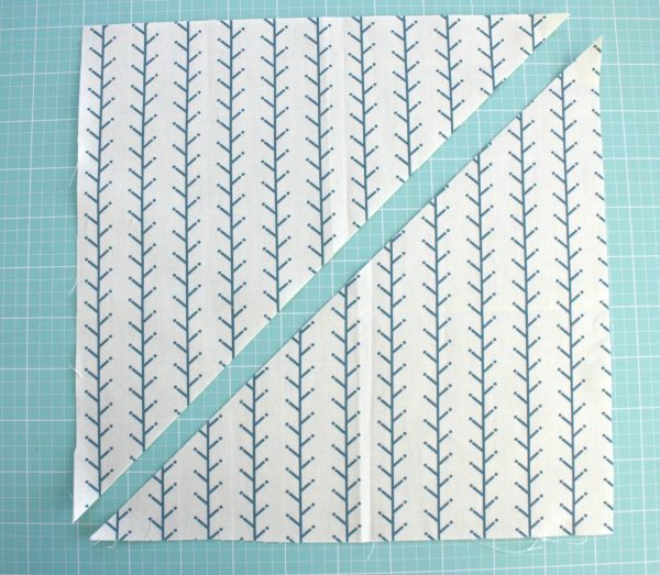 Lone Star Baby Quilt Quilt-Along Part I-Diagonal Cut
