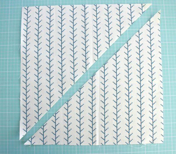 Lone Star Baby Quilt Quilt-Along Part I-Diagonal Cut