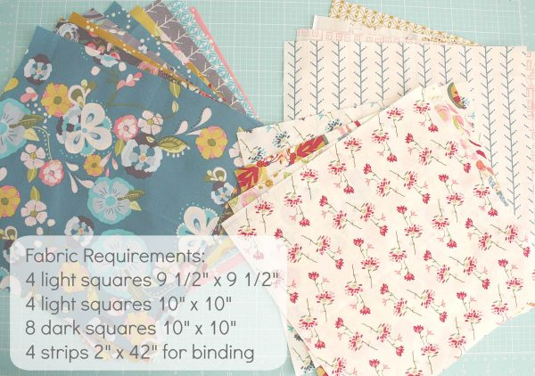 Lone Star Baby Quilt Quilt-Along Part ! Fabric Requirements