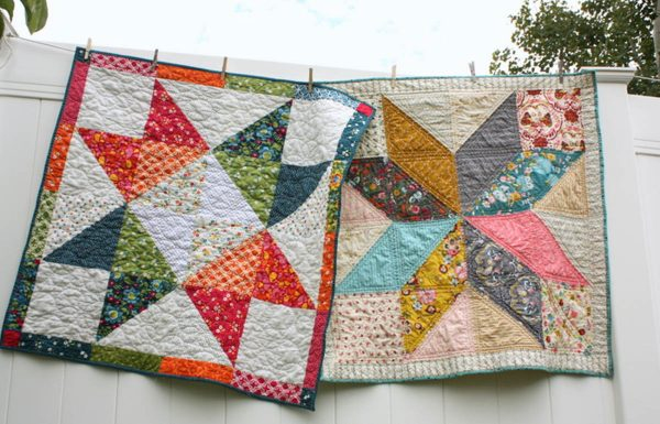 Lone Star Baby Quilt Quilt-Along Quilt Tutorials