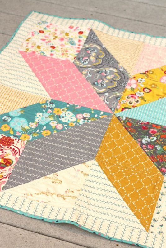 Lone Star Baby Quilt Quilt-Along by A. Smart