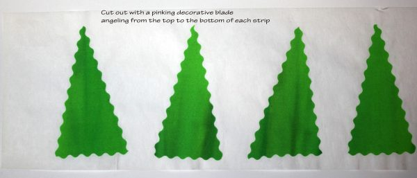 Peace Holiday Wall Hanging Tutorial trees