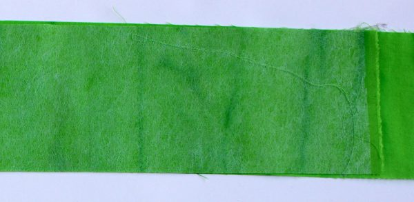 Peace Holiday Wall Hanging Tutorial cut green strips