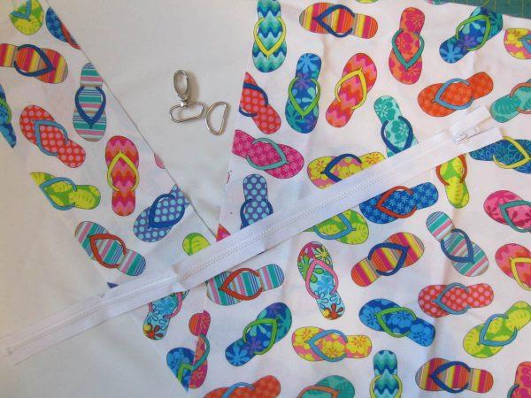 Swim Wetbag Sewing Materials