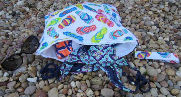 Swim Wetbag Sewing Tutorial Finished