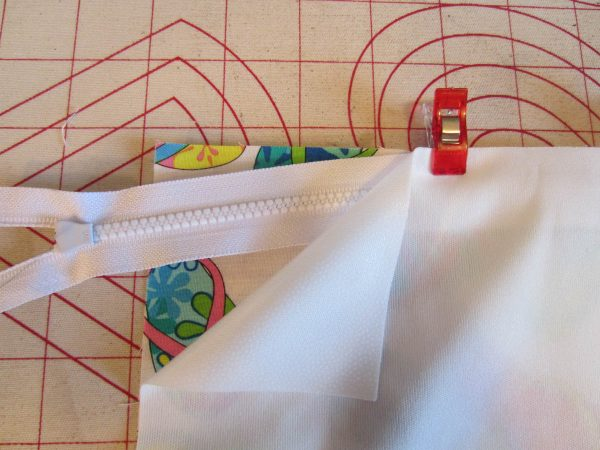 Swim Wetbag Sewing Tutorial - Create the fabric sandwich
