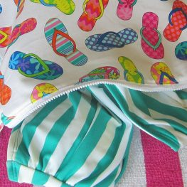 Swim Wetbag Tutorial WeAllSew BERNINA Blog