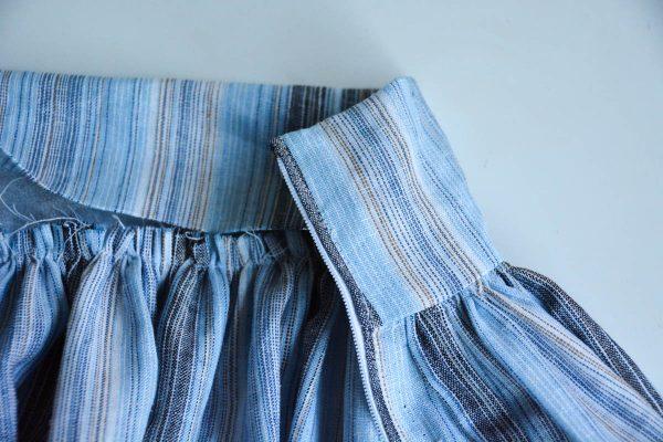 Midi Skirt Tutorial - inserted zipper