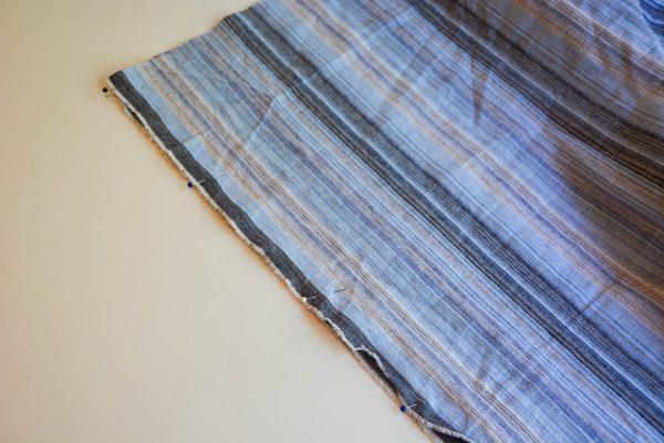 Midi Skirt Tutorial - cut skirt pieces