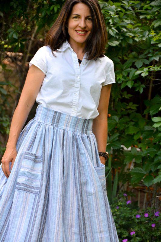 Midi Skirt Tutorial - Finished