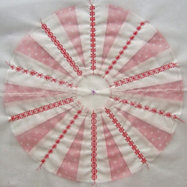 Learn how to make a Peppermint Candy Pillow
