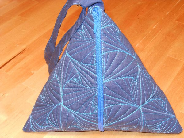 Pyramid Pouch Tutorial - Finished Bag