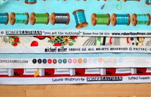 Fabric selvage edge tips, tricks and project tutorials