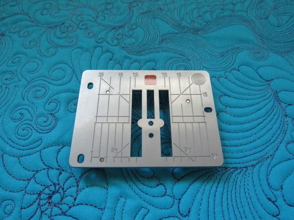 BERNINA Patchwork Foot 97D Tips - Straight Stitch Plate