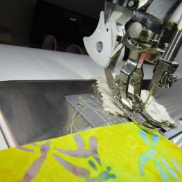 BERNINA Patchwork Foot 97D Tips - Dual Feed Engaged while Piecing