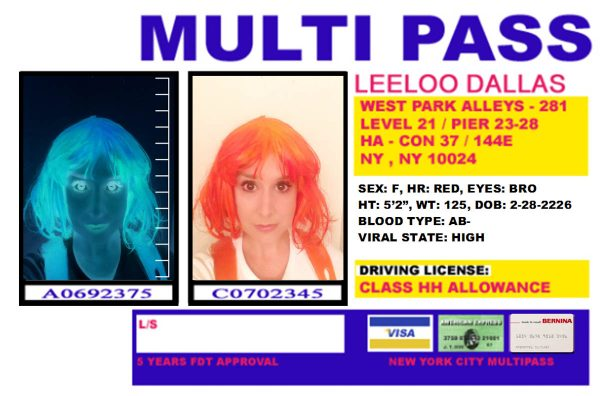 DIY Leeloo Dallas' Multipass Costume - Multipass