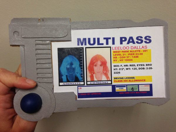 DIY Leeloo Dallas' Multipass Finished