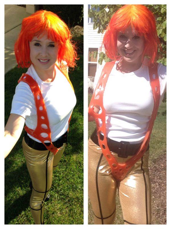 DIY Leeloo Dallas' Multipass Costume - Gayle Schliemann