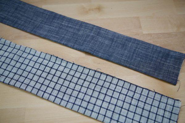 Garden Frock Tutorial - creating the shoulder straps step 2