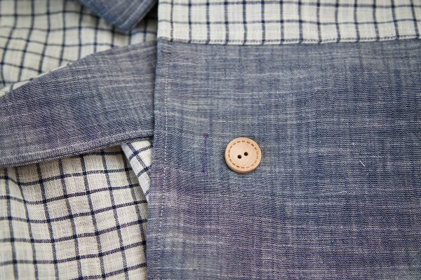 Garden Frock Tutorial - sewing the button hole