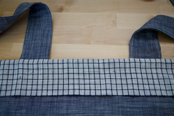 Garden Frock Tutorial - Top Stitch for Facing