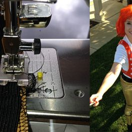 Leeloo Dallas's Multipass Costume 555 x 300