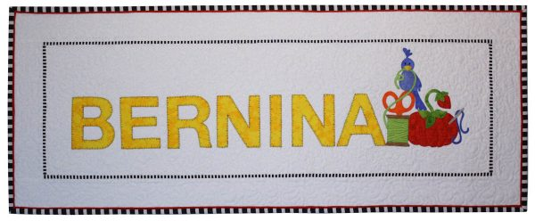 Tape Measure Stitch Tip - BERNINA Wall Hanging