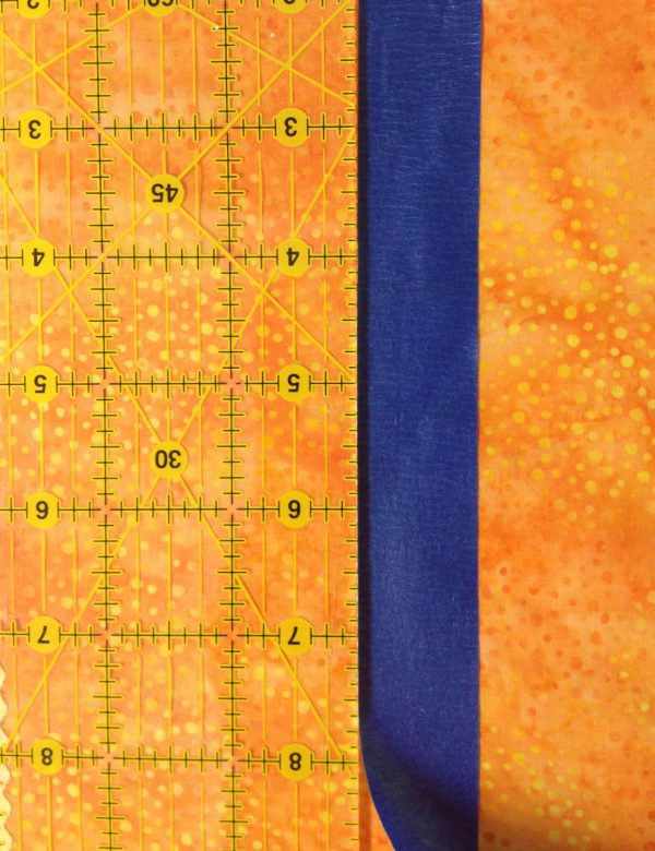 Taping Tips for Quilters - marking wide stitch lines