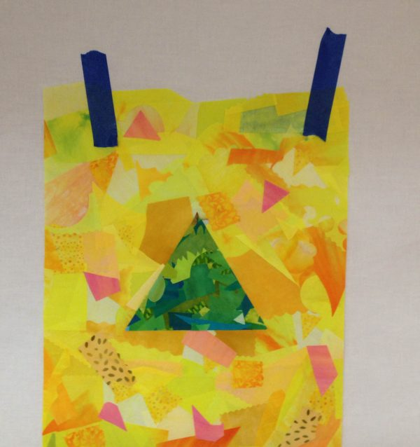 Taping Tips for Quilters - holding artwork to a design wall