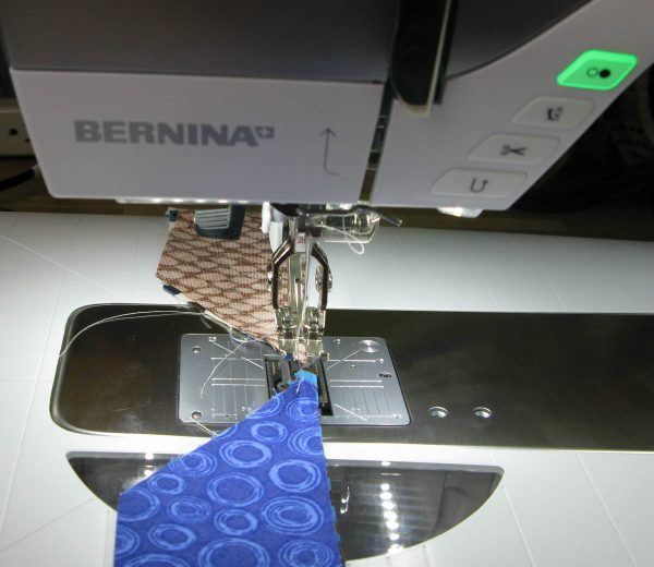 Tips and Tricks by Leni Wiener - Piecing with the BERNINA Free-Hand System