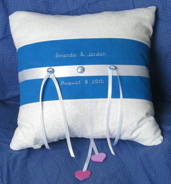Tips and Tricks by Leni Wiener - Finished Pillow