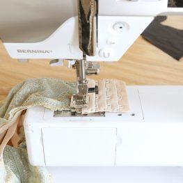 Hook and Eye Sewing Tutorial